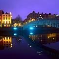 Hapenny Bridge, Dublin, Ireland by The Irish Image Collection
