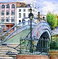 Ha'penny Bridge Dublin by John D Benson