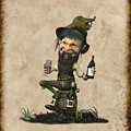 Happly Time For A Leprechaun by John Junek