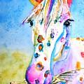 Happy Appy by Carlin Blahnik CarlinArtWatercolor