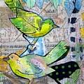 Happy Birds by Jillian Goldberg