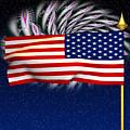 Happy Birthday America by Ganesh Barad