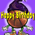 Happy Birthday Basketball Wiz by Kevin Middleton