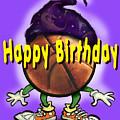 Happy Birthday Basketball Wiz by Kevin Middleton