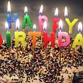 Happy Birthday Candles by Carlos Caetano