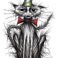 Happy Birthday Cat by Keith Mills