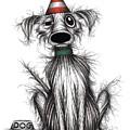 Happy Birthday Dog by Keith Mills