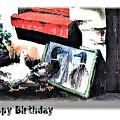 Happy Birthday Hb 1 by Val Byrne