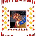 Happy Birthday To The Star Of The Day by Marian Bell