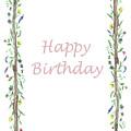 Happy Birthday Wild Flowers  by Irina Sztukowski
