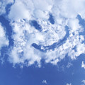 Happy Face Sky by Guy Crittenden