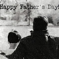 Happy Father's Day #blackwhite by Andrea Anderegg