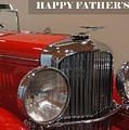 Happy Father's Day Card by Patricia Strand