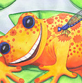 Happy Frog by Catherine G McElroy
