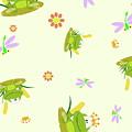 Happy Frogs by Patrick Hoenderkamp