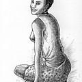 Happy Girl by Anthony Mwangi