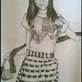 Happy Girl In Naga Outfit  by Shubham Kumar