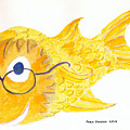 Happy Golden Fish by Fred Jinkins