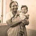 Happy Granny And Grandson by Asha Sudhaker Shenoy