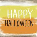 Happy Halloween Sign- Art by Linda Woods by Linda Woods