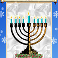 Happy Hanukkah by Melissa A Benson