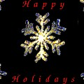 Happy Holiday Snowflakes by Tim Allen