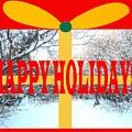 Happy Holidays 21 by Patrick J Murphy
