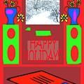 Happy Holidays 98 by Patrick J Murphy