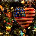 Happy Holidays To All My Faa Friends by David Patterson
