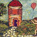 Happy In The Garden by Ioulia Sotiriou