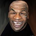 Happy Iron Mike Tyson by Brett Hardin