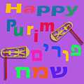 Happy Joyous Purim In Hebrew And English by Humorous Quotes