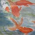 Happy Koi by Elvira Ingram
