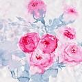 Happy Magenta -healing Roses -26 by Sweeping Girl