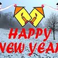 Happy New Year 24 by Patrick J Murphy