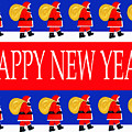Happy New Year 7 by Patrick J Murphy
