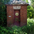 Happy Outhouse by Phyllis Taylor