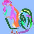Happy Rooster by Go Van Kampen