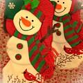Happy Snowmen by Miriam Marrero