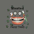 Happy Teeth T-shirt by Anthony Falbo