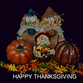 Happy Thanksgiving To All by Pamela Walton