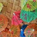 Happy Umbrellas by Jennie Stewart