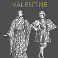 Happy Valentine Two Men by Eric Kempson
