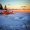 Harakka Island Sunset by Pennie  McCracken