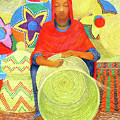 Harar Lady 2 by Yoseph Abate