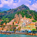 Harbor At Amalfi by Dominic Piperata