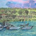 Harbor At Halesite by Don Schaeffer