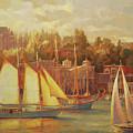 Harbor Faire by Steve Henderson