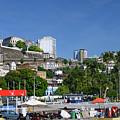 Harbor In Salvador Da Bahia Brazil by Ralf Broskvar