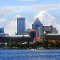 Harbor Island Florida by David Lee Thompson